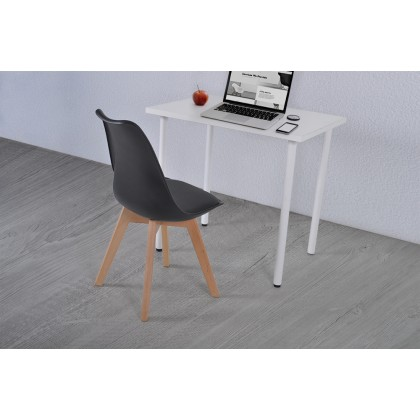Bundle Set Study Table W Chair / Home Office Desk (Tody 800) For Small Space